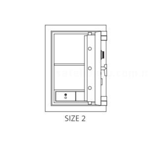 ChubbSafes Fortress Safe Size 2