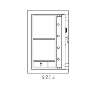 ChubbSafes Fortress Safe Size 3