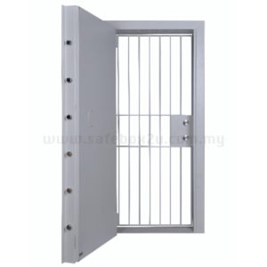 Falcon  BRD 01 (6.0mm) book room door c/w grille gate