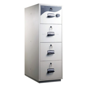 ChubbSafes RPF 5204 – 4 Drawer Cabinet (2hrs Fire Resistance)