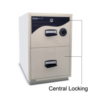 ChubbSafes RPF 5202 – 2 Drawer Cabinet (2hrs Fire Resistance)