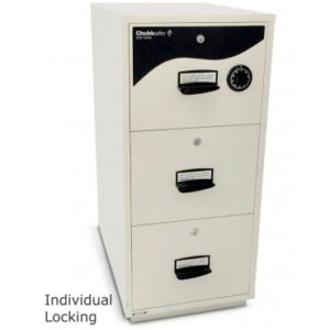 ChubbSafes RPF 5203 – 3 Drawer Cabinet (2hrs Fire Resistance)